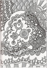 Танглы-почеркушечки